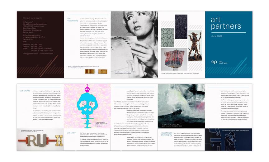 Art Partners Identity Booklet