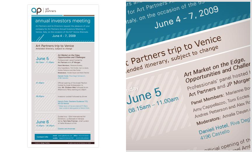Art Partners newsletters