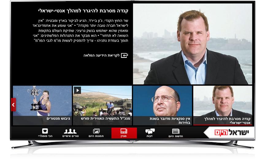 Smart TV Magazin page