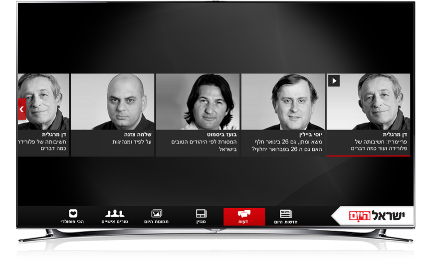 Smart TV Opinion page