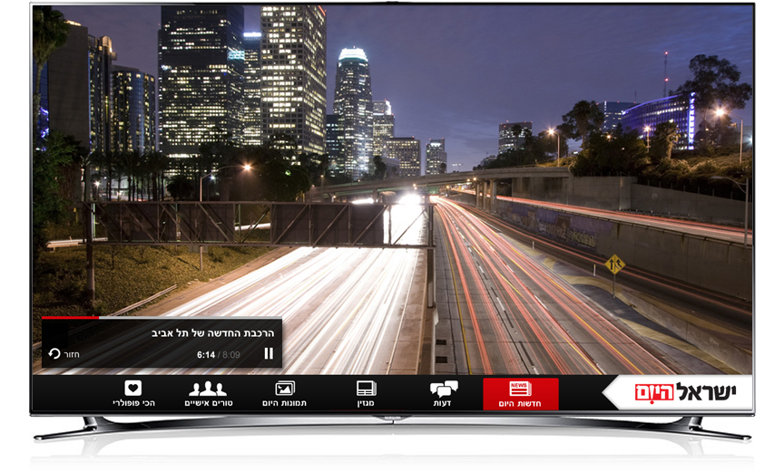 Smart TV video