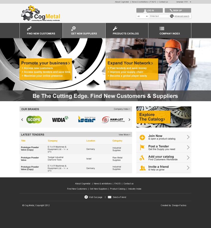 CogMetal website