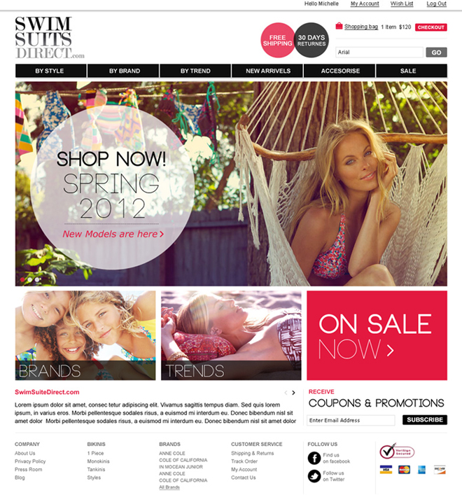 Swimsuit Direct / Home Page