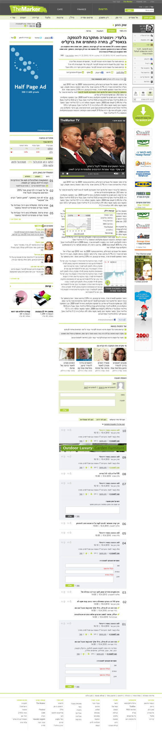 TheMarker website