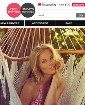 Swimsuit Direct website