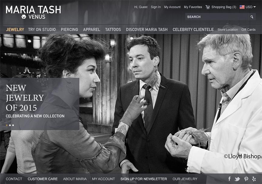 Maria Tash website