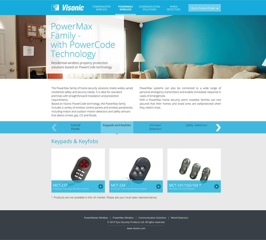 Visonic-Online Product Catalog