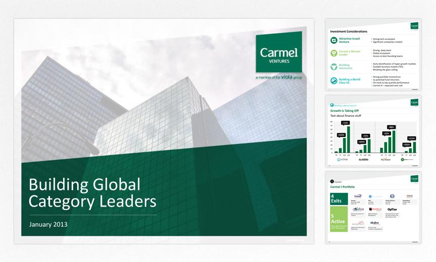 Carmel Ventures presentation