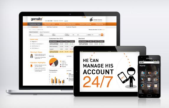 פלטפורמה אינטרנטית וסלולרית לניהול חשבון פיננסי בערוצים ניידים (MFS)