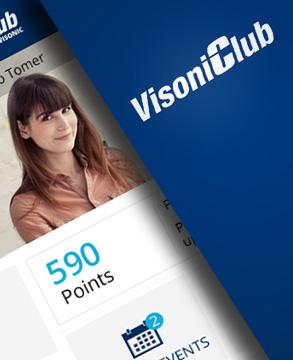 Visonic club mobile app