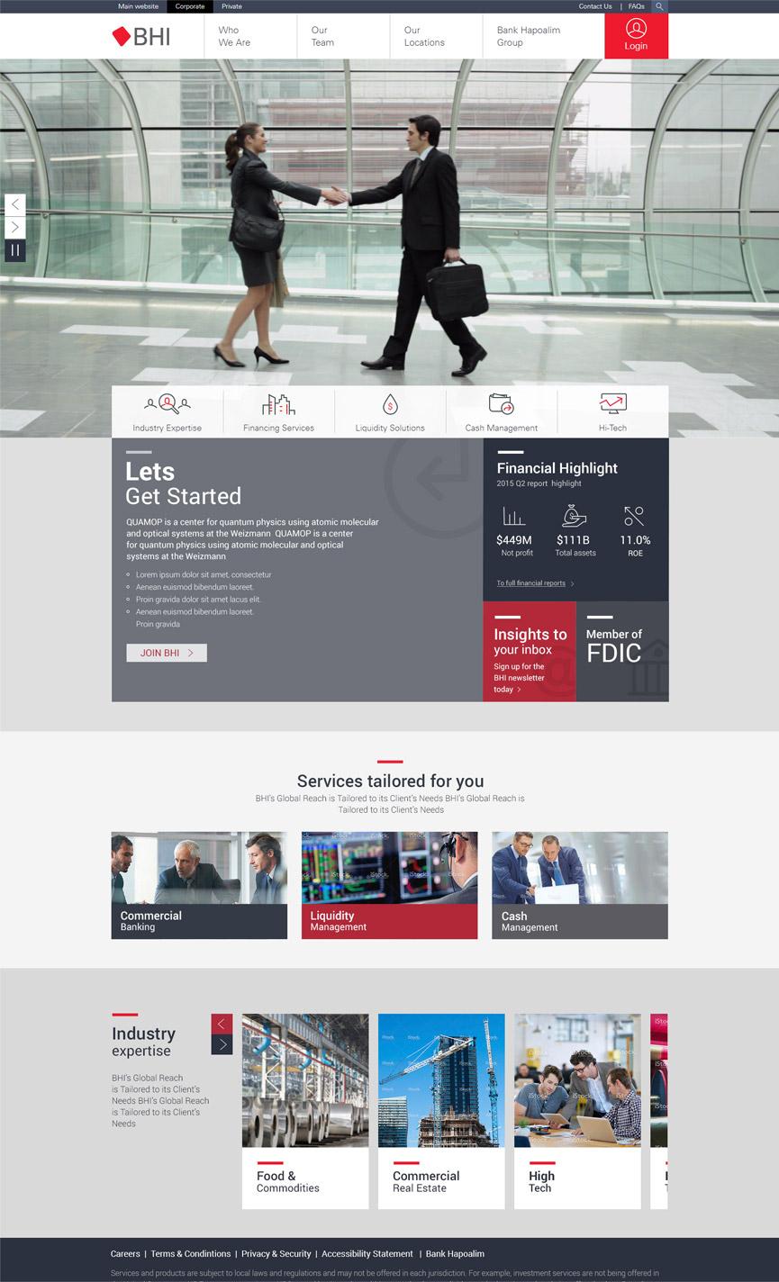 BHI Corporate Homepage