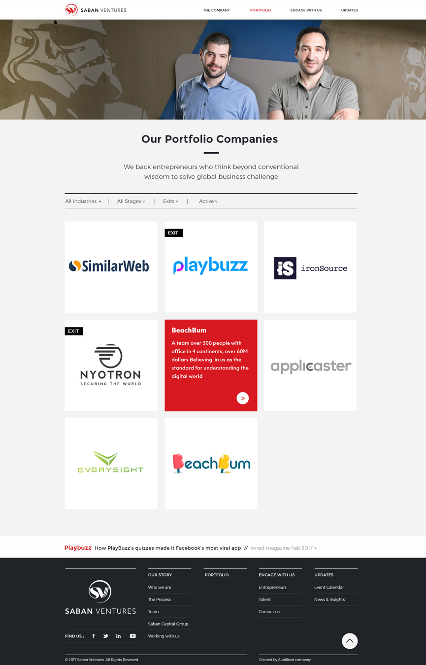 saban ventures portfolio companies