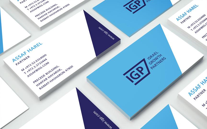 IGP new branding stationary