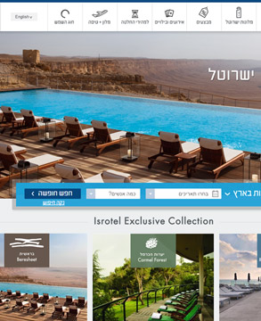 Isrotel Website