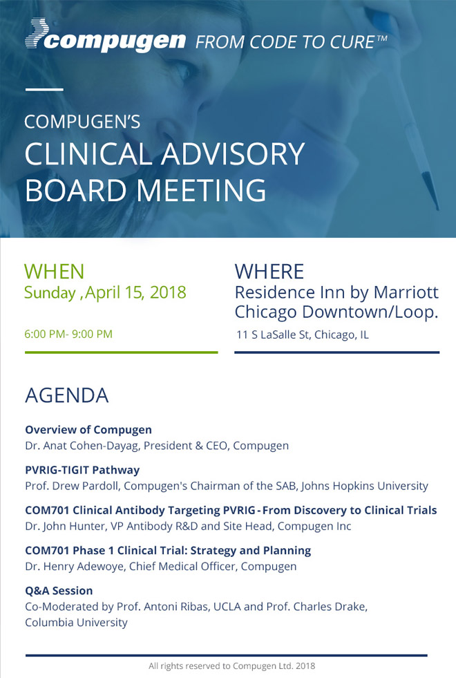 Clinical board meeting